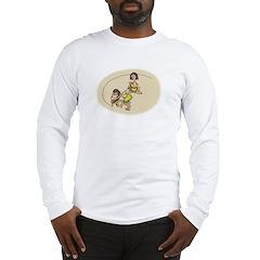 Creating the Circle Long Sleeve T-Shirt