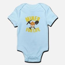 Miner For Life Body Suit