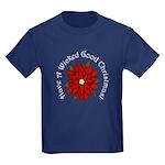 A Wicked Good Christmas! Kids Dark T-Shirt