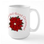 A Wicked Good Christmas! Large Mug