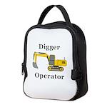 Digger Operator Neoprene Lunch Bag