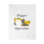 Digger Operator Twin Duvet