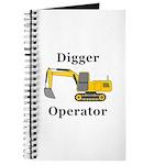 Digger Operator Journal