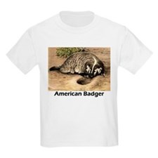 American Badger Kids T-Shirt