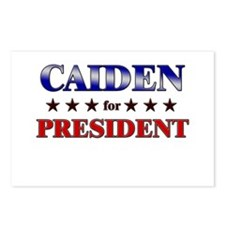 CAIDEN for president Postcards (Package of 8)