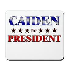 CAIDEN for president Mousepad