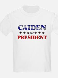 CAIDEN for president T-Shirt