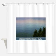 High Country North Carolina Shower Curtain