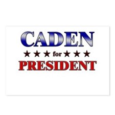 CADEN for president Postcards (Package of 8)