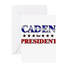 CADEN for president Greeting Card