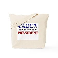 CADEN for president Tote Bag