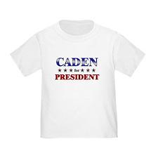 CADEN for president T