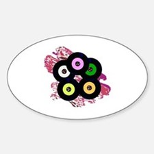 Cute 45 record Decal