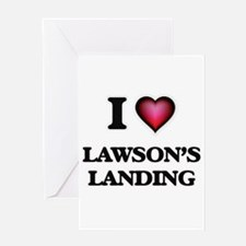 I love Lawson'S Landing California Greeting Cards