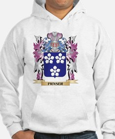 Fraser Coat of Arms (Family Cres Hoodie