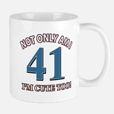 41 birthday design Mug