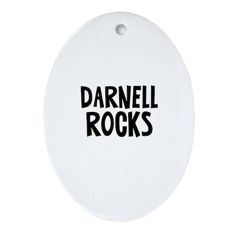 Darnell Rocks Oval Ornament