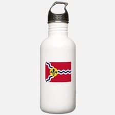 Patriotic Flag of St L Water Bottle