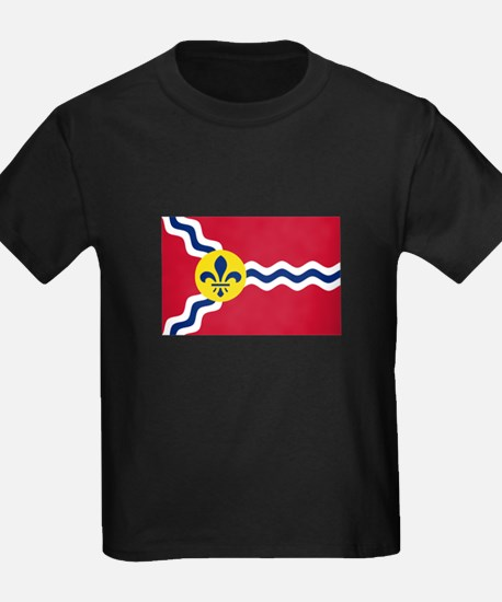 Patriotic Flag of St Louis Missouri T-Shirt
