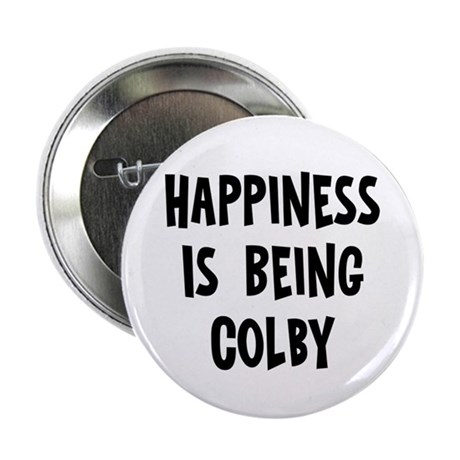 """Happiness is being Colby 2.25"""" Button (10 pack)"""