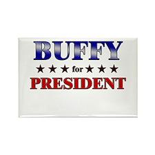 BUFFY for president Rectangle Magnet