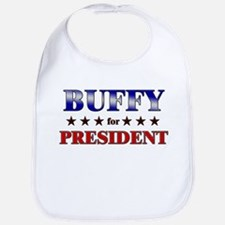 BUFFY for president Bib