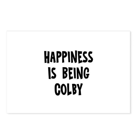 Happiness is being Colby Postcards (Package of 8)