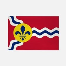 Patriotic Flag of St Louis Missouri Magnets