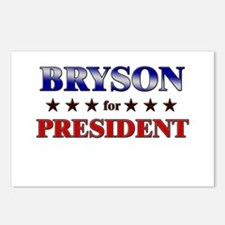 BRYSON for president Postcards (Package of 8)