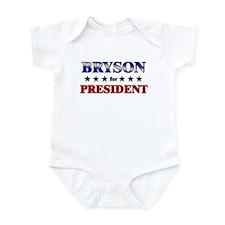 BRYSON for president Infant Bodysuit