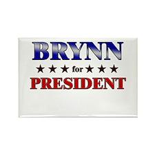BRYNN for president Rectangle Magnet