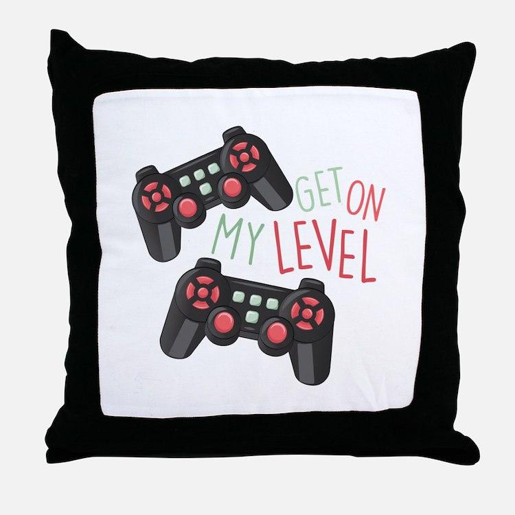 My Level Throw Pillow