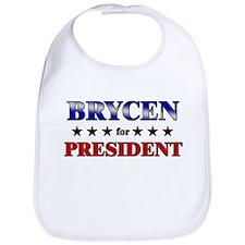BRYCEN for president Bib