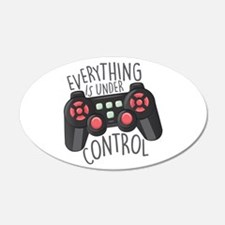 Under Control Wall Decal