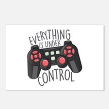 Under Control Postcards (Package of 8)