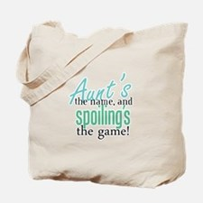 Aunt's the Name! Tote Bag
