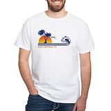 Cape san blas Mens White T-shirts