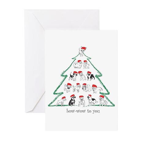 Santa Tree Greeting Cards (Pk of 10)