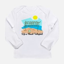Beach Volleybal Long Sleeve T-Shirt