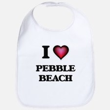 I love Pebble Beach California Bib