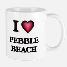 I love Pebble Beach California Mugs