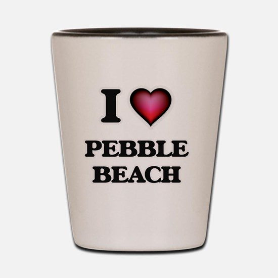 I love Pebble Beach California Shot Glass