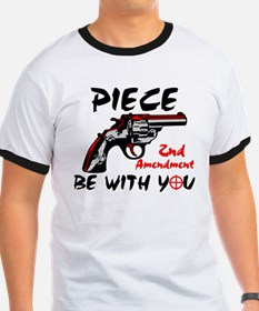 """Piece Be With You!"" Color T-Shirt"