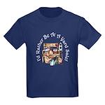 I'd Rather Be At A Yard Sale! Kids Dark T-Shirt