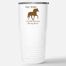 Cute Kentucky mountain saddle horse Thermos Mug