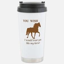 Gaited horses Travel Mug