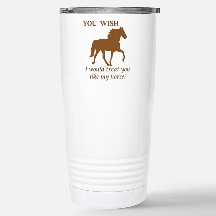Cute Tennessee walking horse Travel Mug