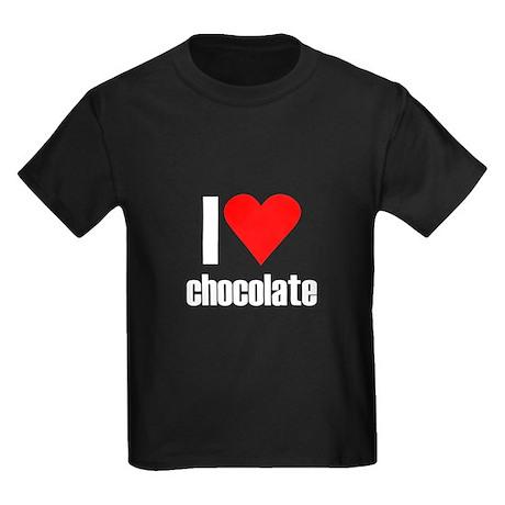 I love chocolate Kids Dark T-Shirt