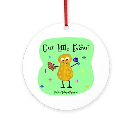Our Little Peanut Ornament (Round)