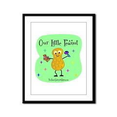 Our Little Peanut Framed Panel Print